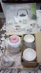 Jogo para chá estilo japonês