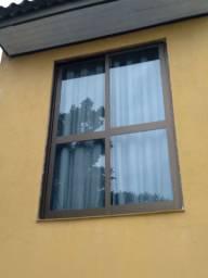Porta janela alumínio