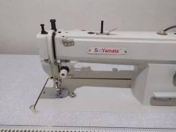 Maquina de costura reta de transporte  duplo