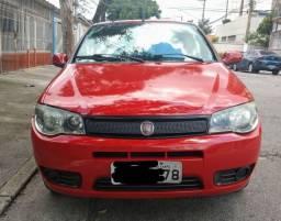 Palio fire economy 1.0 2012 completo 4 portas  vermelho