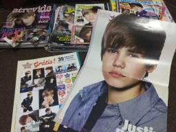 Coleção de revistas Justin Bieber