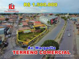 Terreno Comercial e Residencial na Av Margarita 495m²  Excelente Localização