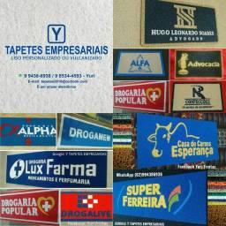 As cores mais vendidas em capachos com a sua logo