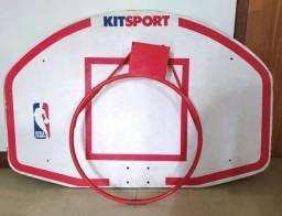 Tabela e aro de Basquete NBA - alta qualidade