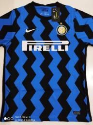 Camisa Inter de Milão Home Nike 20/21 - Tamanhos: P, M, G