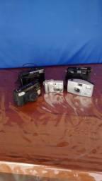 Kit maquinas fotograficas pra colecionador