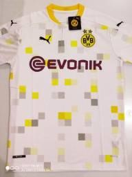 Camisa Borussia Dortmund Third Puma 20/21 - Tamanhos: P, M