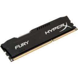 Memória HyperX Fury, 4GB, 1866MHz, DDR3, CL10, Preto