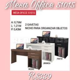Mesa de estudos office branco