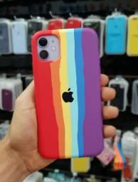 Capa aveludada para iPhone 7/8 plus e XR