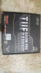 Processador AMD Ryzen 5 3400G, Cache 6MB, 3.7GHz,Placa-Mãe Asus TUF B450-Plus Gaming
