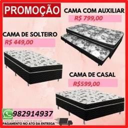 Preço Bom+Frete Gratis!!Super Promoção de Camas Box Com Selo do Inmetro!!