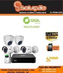 Câmera de segurança Giga