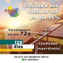 Energia solar kit solar em promoção
