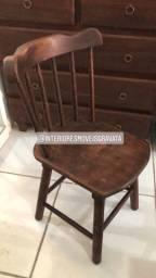 Mesas 1.20 /80 e cadeiras cowtry tampo de madeira ou de cerâmica