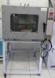 Título do anúncio: Forno turbo padaria Progas 5 grades a gás Novo Frete Grátis