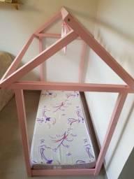 Vendo mini cama montessoriana acompanha colchão