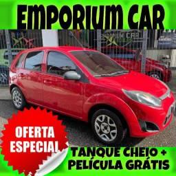 TANQUE CHEIO SO NA EMPORIUM CAR!!! FORD FIESTA 1.0 SE ANO 2014 COM MIL DE ENTRADA