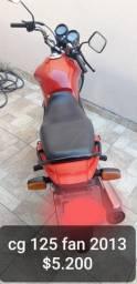 MOTO HONDA FAN CG 125 KS