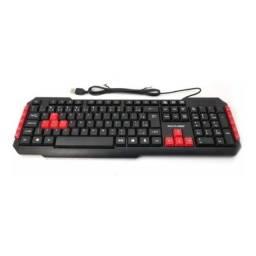 Teclado Usb Gamer Multilaser Red Keyes - Tc160