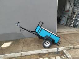 carroçinha reboque para moto