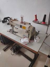Máquina costura industrial Juli motor elétrico