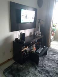 Rack com Painel Para TV e mesa de centro