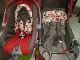 Carrinho bebê + bebê conforto Cosco