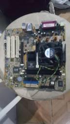Placa Mãe socket 478 Asus P4s8x-mx