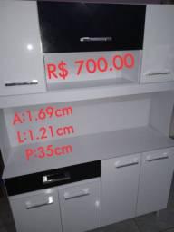 Armário de CozinhaA:1.70xL:1.21cmxP:35,5cm