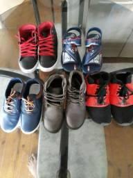 Calçados masculino infantil todos 200 reais