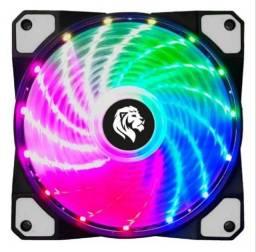 Fan Cooler Master Luz Led Conector Molex 4 Pinos