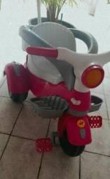 Motoca rosa