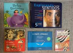 Livros Infantis diversos
