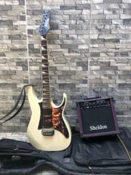 Guitarra ibanez 150dx + amplificador Sheldon 1200