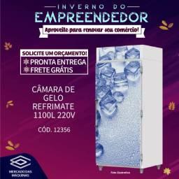 Título do anúncio: Câmara de gelo Refrimate 1100L 220v Nova Frete Grátis