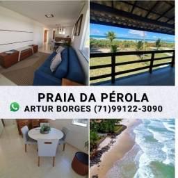 Condomínio Praia da Pérola Apt de 2/4 68m² Vista Mar ( 60x Sem Juros) Exclusivo.