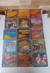 CDs originais de forro