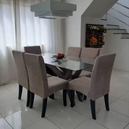 Mesa 6 Cadeiras CIMOL