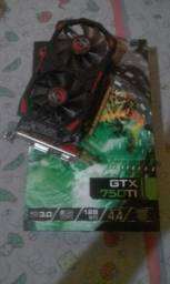 Placa de video gtx 750ti 2gb