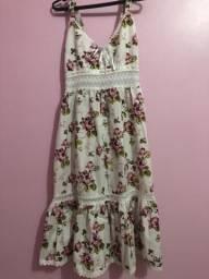 Vestido florido - veste do 36 ao 40