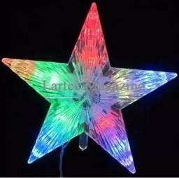 Ponteira Estrela Pisca Para Arvore De Natal Natalino -127v