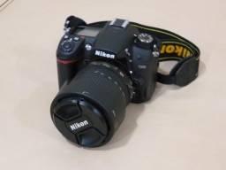 Câmera Nikon D7000 com várias lentes, pouco uso, muito bem conservada