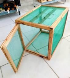 Caixa de secar alimentos de madeira