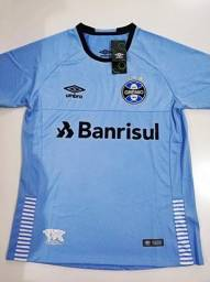 Camisa Grêmio Away Azul 18 19 - M c01b37d8e9f2a