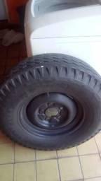 Estepe com pneu para caminhonete,