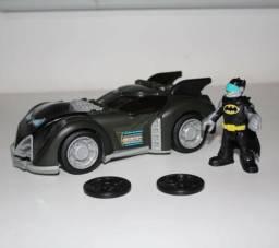 Imaginext Carro Do Batman Batmóvel - Dc Super Heróis Mattel