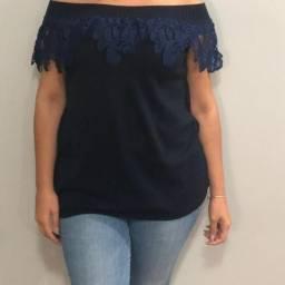 Agapanto Modas - cigana azul com renda