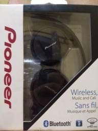 Fone de Ouvido Pioneer Se-mj553bt-K Com Bluetooth - Preto