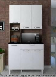 Armário de cozinha - tannat 6 portas